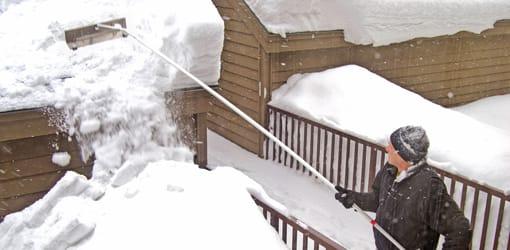 pelle à neige pour toit